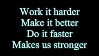 Download Daft Punk-Harder Better Faster Stronger (Lyrics) Video