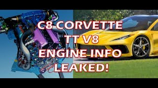 Download C8 Corvette Twin Turbo V8 info LEAKED! Video