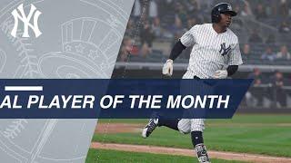 Download Didi Gregorius is April 2018 AL Player of the Month Video