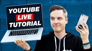 Download How to Go LIVE on YouTube with a Computer or Smartphone — 4 Ways Video