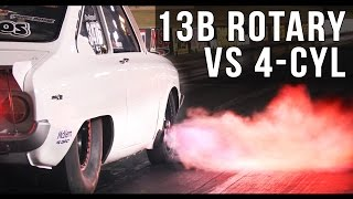 Download Turbo Compacts - 13B Rotary vs 4-cylinder Video