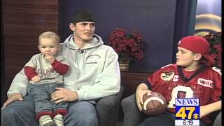 Download 2001: Derek Carr's first TV interview Video