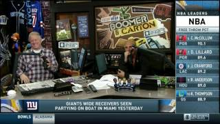 Download Boomer and Carton - Carton signing ″On a Boat Baby″ - Giants Video