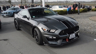 Download Shelby GT350 start up, revs and acceleration Video