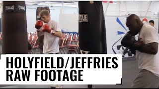 Download Holyfield/Jeffries Heavy Bag RAW FOOTAGE Video