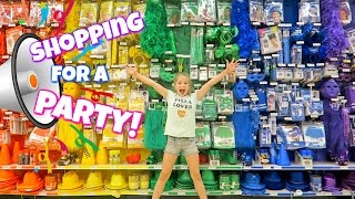 Download Shopping for a Party at Party City   hopes vlogs Video