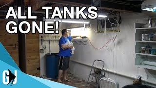 Download #586: ALL THE FISH TANKS ARE GONE - Update Monday Video
