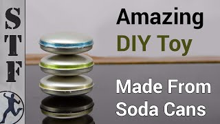 Download Make an Awesome Spinning Toy From 6 Soda Cans Video