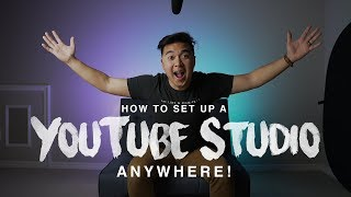 Download Set Up a YouTube Studio ANYWHERE! Video