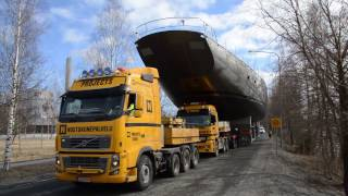 Download Pink Gin VI transport from Bosund to Jakobstad 2017-04-21 Video