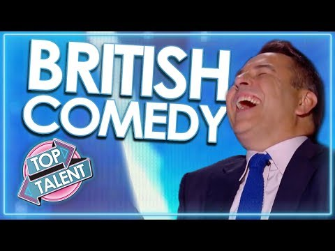 'Can't Stop Laughing' TOP COMEDIANS From Britain's Got Talent! | Top Talent