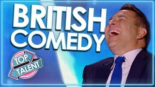 Download 'Can't Stop Laughing' TOP COMEDIANS From Britain's Got Talent! | Top Talent Video