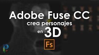 Download Adobe Fuse CC, crea personajes en 3D Video