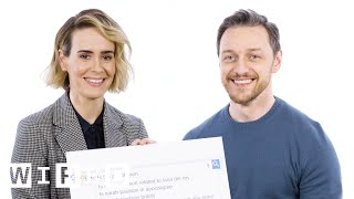 Download James McAvoy & Sarah Paulson Answer the Web's Most Searched Questions | WIRED Video