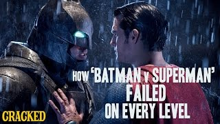 Download How 'Batman v Superman' Failed On Every Level - Cracked Responds Video