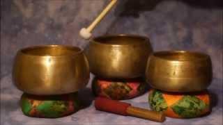 Download Mani Antique 3 Bowl Auric Healing Set Video