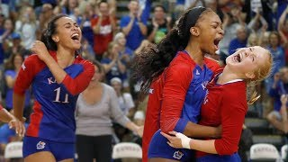 Download #7 Kansas tops #17 Purdue, 3-1 // Kansas Volleyball // 9.8.17 Video