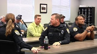 Download Shaquille O'Neal visits GPD - The rematch Video