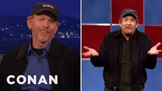 Download Ron Howard On Tom Hanks' Impression Of Him - CONAN on TBS Video