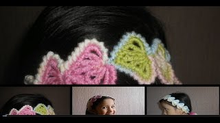 Download Cordon-tiara-diadema-vincha en crochet punto fantasia Video