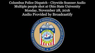 Download Columbus Police Scanner Audio Mass injury incident at Ohio State University Video