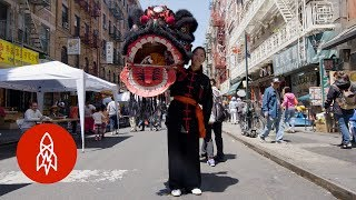 Download Roaring With the Lion Dancers of New York's Chinatown Video