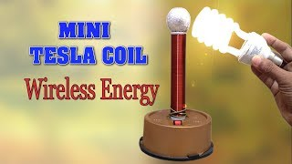 Download How to make Tesla Coil at home - Wireless Energy Transmission - DIY Homemade Mini Tesla Coil Video