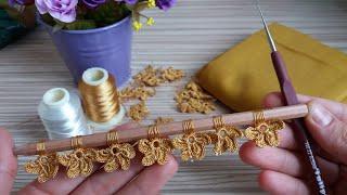 Download Sipariş Rekorları Kıran Muhteşem Tığ İşi Motifim 😀 Çok güzel oldu👍Turkish Handmade/Knitting Video