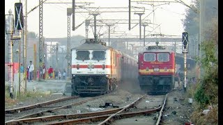 Download One Awesome Day with Furious Trains [14 in 1] : Rajdhani + Shatabdi + Double Decker + Many More Video
