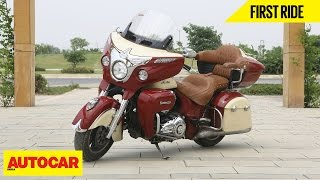 Download Indian Roadmaster | First Ride | Autocar India Video