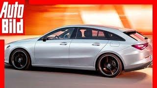 Download Zukunftsaussicht: Mercedes CLA Shooting Brake (2019) Details / Erklärung Video