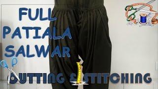 Download Full Patiala Salwar | How To Sewing Tutorial | Diy Video