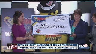 Download Winner claims $536 million Mega Millions jackpot Video