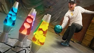 Download Lava Lamp Pins?   Bowling Destruction! Video