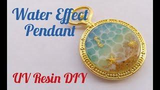 Download UV Resin Water Effect Pendant DIY Video