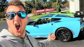 Download MY 1,000HP ZR1 BUILD IS DONE!!! My First Drive in the World's MOST INSANE C7 ZR1! Video