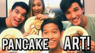 Download Pancake Art Challenge Ft. Alex Wassabi, Laurdiy, & Lazyron!! Video