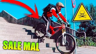 Download ME TIRO POR LAS ESCALERAS CON MI NUEVA BICICLETA *SALE MAL* BICICLETA FERRARI Makiman Video