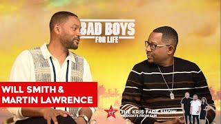 Download Will Smith & Martin Lawrence Talk To The Kris Fade Show Video