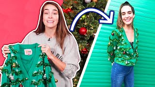Download We Try Styling Ugly Christmas Sweaters Video