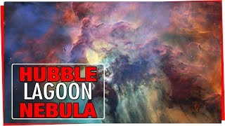 Download HUBBLE 28th Anniversary - A view of the Lagoon Nebula Video
