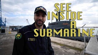 Download See inside a Submarine Video