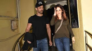 Download Hrithik Roshan Watches Simmba With Ex-Wife Sussanne Khan & Kids Hrehaan And Hridaan Video