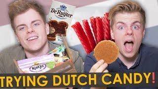 Download BRITISH TWINS TRY DUTCH CANDY | NikiNSammy Video