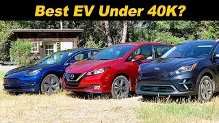 Download Tesla v Nissan v Kia | The Newest ″Budget″ EVs Compared! Video