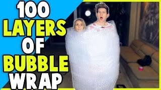 Download 100 LAYERS OF BUBBLE WRAP w/ JENNXPENN Video