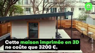 Download Cette maison imprimée en 3D ne coûte que 3200 € Video