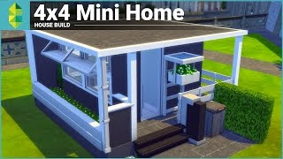 Download The Sims 4 House Building - 4x4 Mini Home Video