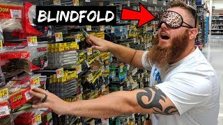 Download Picking Fishing Lures BLINDFOLDED Challenge!!! (FUNNY) Video