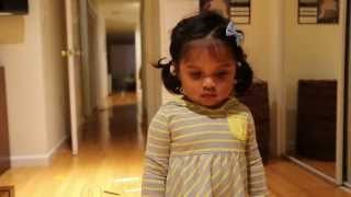 Download Caught her coloring on the wall - check out her reaction! Video
